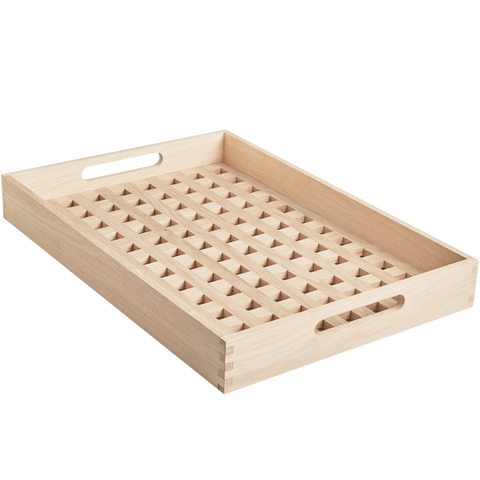 SERVING TRAY OAK - KITCHENWARE - DYKE & DEAN  - Homewares | Lighting | Modern Home Furnishings