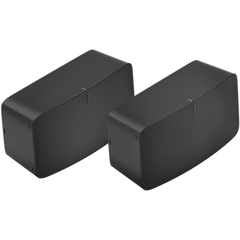SONOS TWO ROOM PRO SET BLACK - HOMEWARE - DYKE & DEAN  - Homewares | Lighting | Modern Home Furnishings