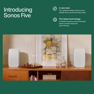 SONOS VINYL SET WHITE WALNUT