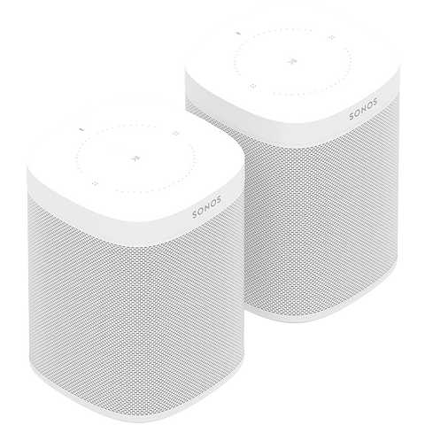 SONOS ONE WHITE TWO ROOM SET - HOMEWARE - DYKE & DEAN  - Homewares | Lighting | Modern Home Furnishings