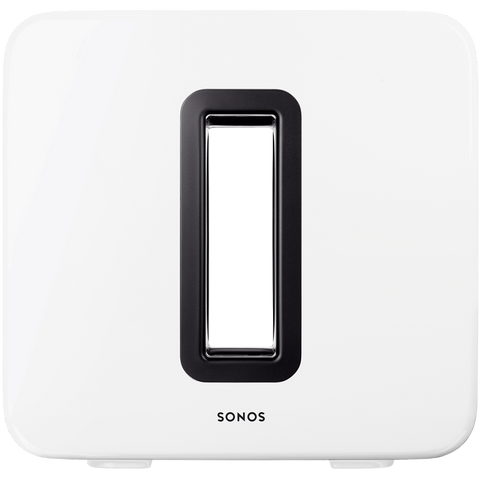 SONOS SUB WHITE - HOMEWARE - DYKE & DEAN  - Homewares | Lighting | Modern Home Furnishings