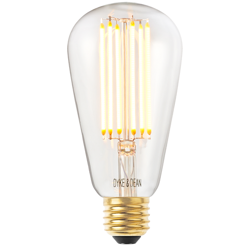 DYKE & DEAN LED SQUIRREL STYLE E27 BULB - BULBS - DYKE & DEAN  - Homewares | Lighting | Modern Home Furnishings