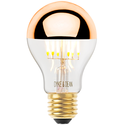 DYKE & DEAN LED COPPER CAP STANDARD E27 BULB - BULBS - DYKE & DEAN  - Homewares | Lighting | Modern Home Furnishings