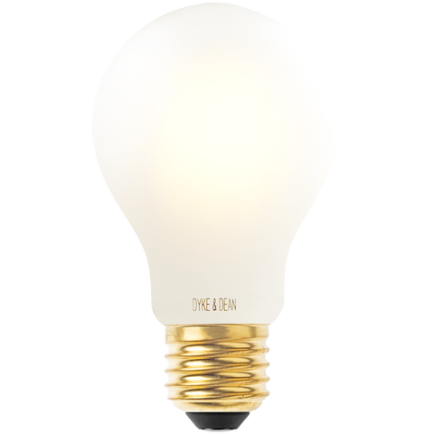 DYKE & DEAN LED STANDARD OPAL E27 BULB - BULBS - DYKE & DEAN  - Homewares | Lighting | Modern Home Furnishings