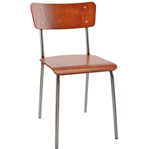 SCOTT & TAYLOR - ORIGINAL MAHOGANY CHAIR