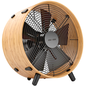 OTTO BAMBOO ROOM FAN - FANS - DYKE & DEAN  - Homewares | Lighting | Modern Home Furnishings