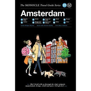 THE MONOCLE TRAVEL GUIDE AMSTERDAM - BOOKS - DYKE & DEAN  - Homewares | Lighting | Modern Home Furnishings