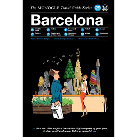 THE MONOCLE TRAVEL GUIDE BARCELONA - BOOKS - DYKE & DEAN  - Homewares | Lighting | Modern Home Furnishings