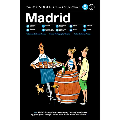 THE MONOCLE TRAVEL GUIDE MADRID - BOOKS - DYKE & DEAN  - Homewares | Lighting | Modern Home Furnishings
