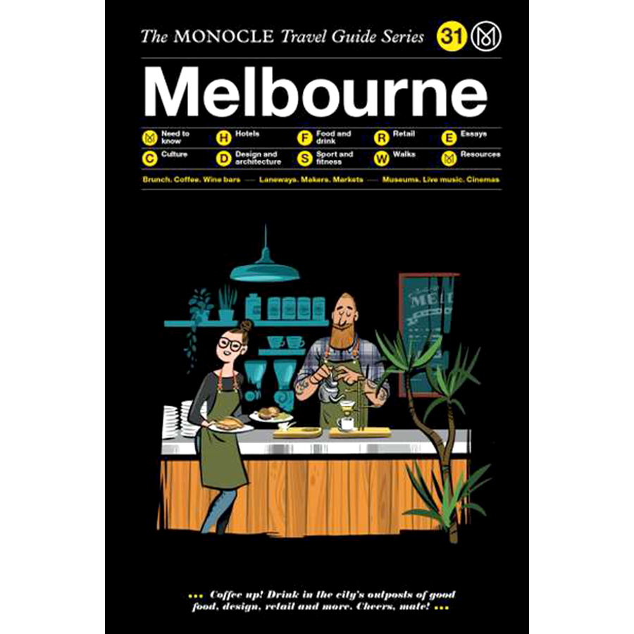 THE MONOCLE TRAVEL GUIDE MELBOURNE - BOOKS - DYKE & DEAN  - Homewares | Lighting | Modern Home Furnishings