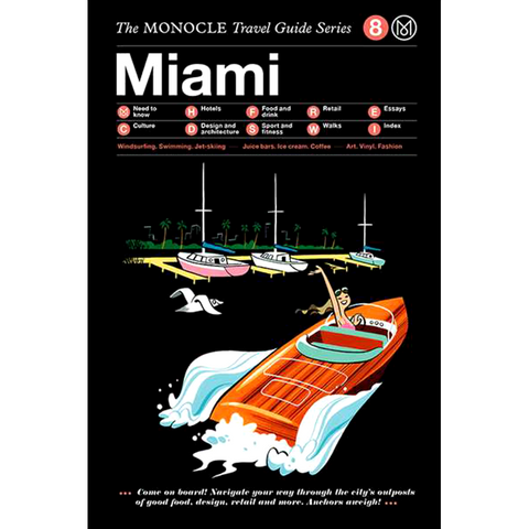 THE MONOCLE TRAVEL GUIDE MIAMI - BOOKS - DYKE & DEAN  - Homewares | Lighting | Modern Home Furnishings