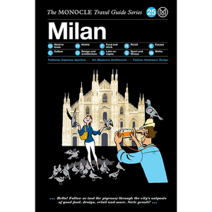 THE MONOCLE TRAVEL GUIDE MILAN - BOOKS - DYKE & DEAN  - Homewares | Lighting | Modern Home Furnishings