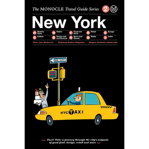 THE MONOCLE TRAVEL GUIDE NEW YORK - BOOKS - DYKE & DEAN  - Homewares | Lighting | Modern Home Furnishings