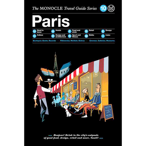 THE MONOCLE TRAVEL GUIDE PARIS - BOOKS - DYKE & DEAN  - Homewares | Lighting | Modern Home Furnishings