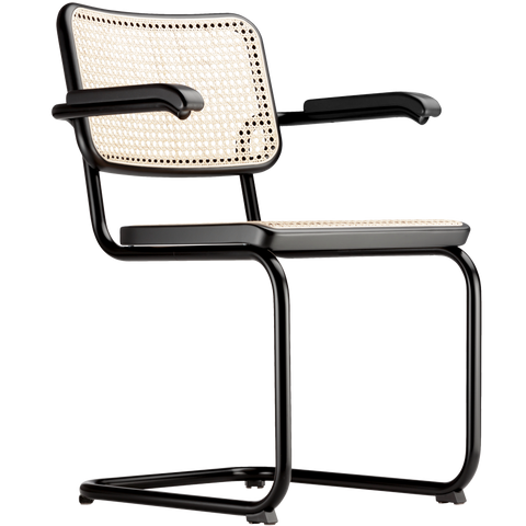 S 64V THONET CANE DINING CHAIR