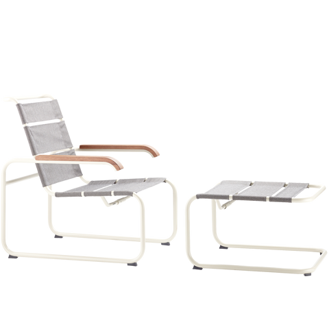 S 35N THONET OUTDOOR ARMCHAIR