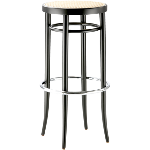214 RH THONET CANE HIGH STOOL