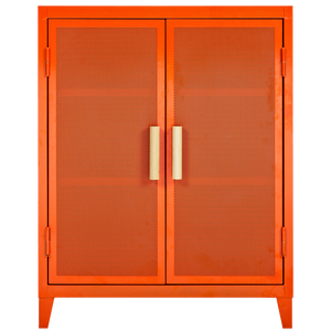 TOLIX PERFORATED DOUBLE DOOR B2 CABINET