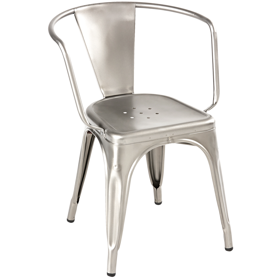 TOLIX A56 CAFE ARMCHAIR STEEL