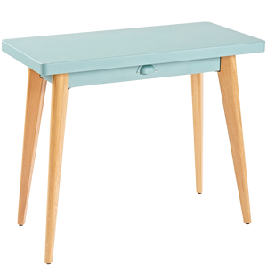 TOLIX 55 CONSOLE TABLE WOOD LEGS