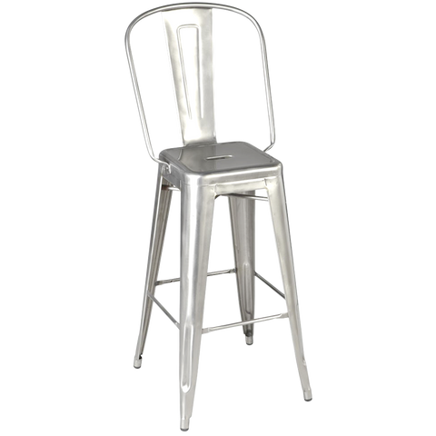 TOLIX GRAND DOSSIER STOOL STEEL