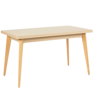 TOLIX 55 TABLE 130x70cm WOOD LEGS