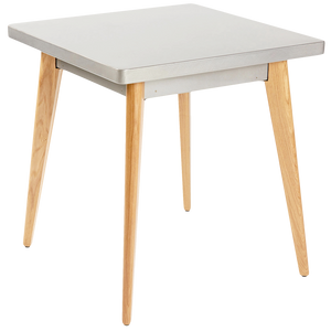 TOLIX 55 TABLE 70x70cm WOOD LEGS
