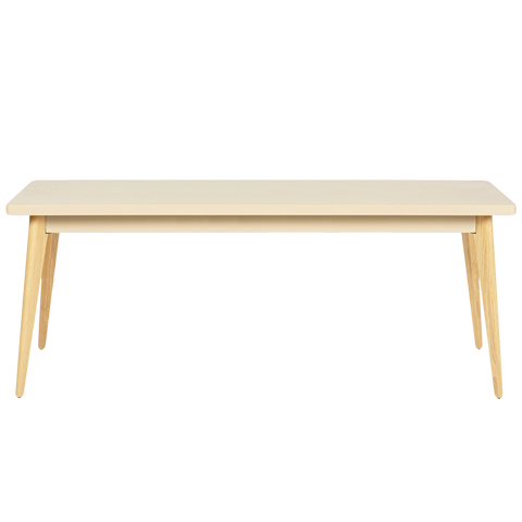 TOLIX 55 TABLE 190x80cm WOOD LEGS
