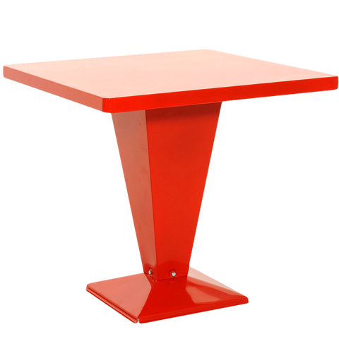TOLIX PEDESTAL KUB TABLE