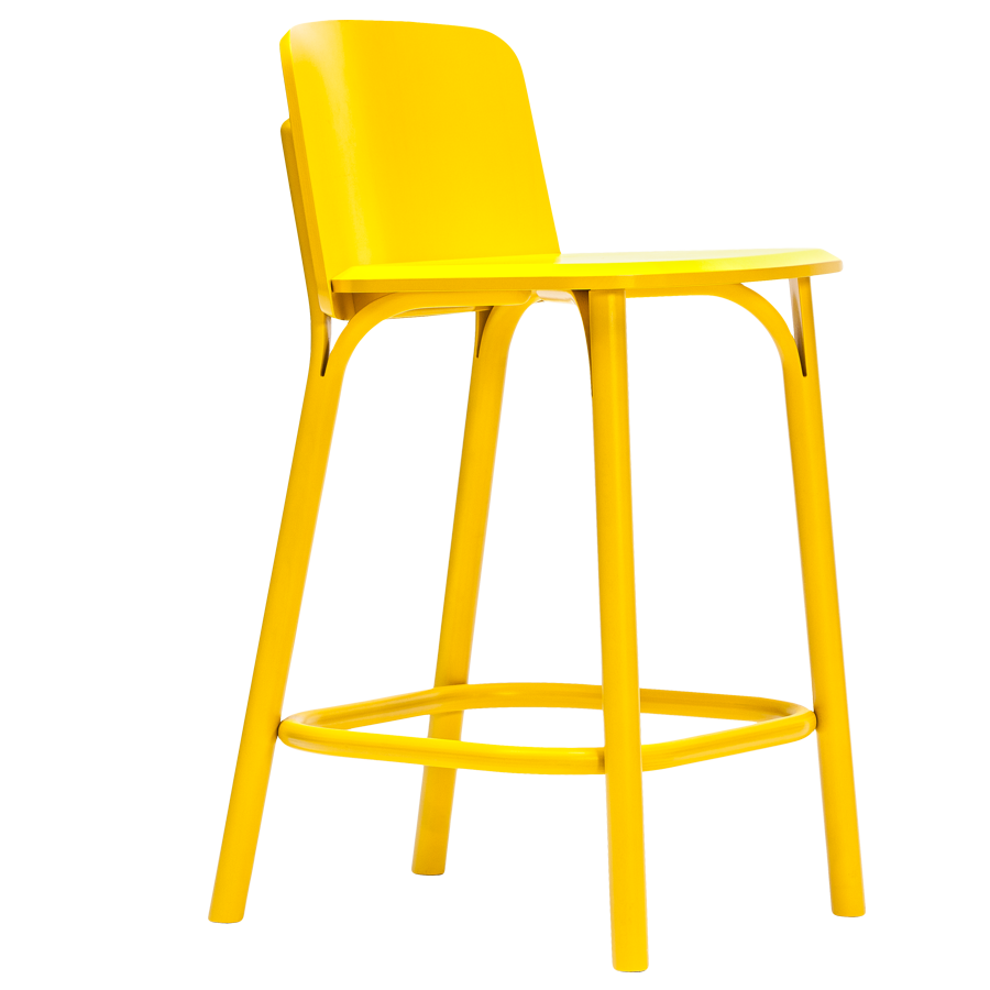 TON BARSTOOL SPLIT LOW - STOOLS - DYKE & DEAN  - Homewares | Lighting | Modern Home Furnishings