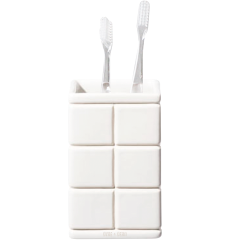 CERAMIC ENSEMBLE TOOTH BRUSH HOLDER