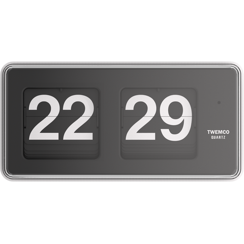 TWEMCO FLIP CLOCK BQ-50 GREY