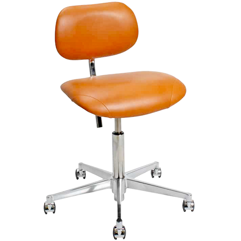 VL66 LEATHER SWIVEL CHAIR