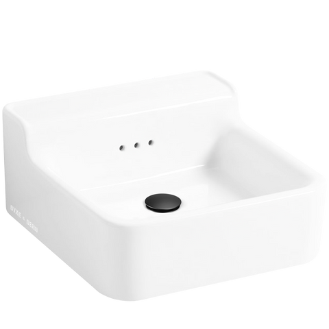 CLASSIC CERAMIC WALL & COUNTER SINK SMALL