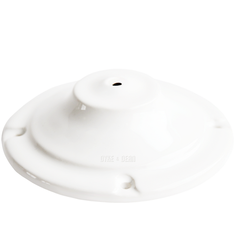 DECO WHITE CEILING ROSE