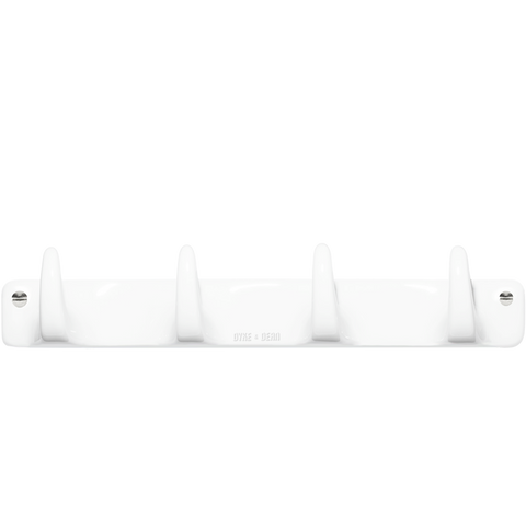 WHITE PORCELAIN HOOK 4 - BATHROOM - DYKE & DEAN  - Homewares | Lighting | Modern Home Furnishings