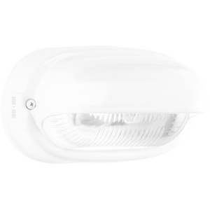 WHITE PORCELAIN BULKHEAD LAMP