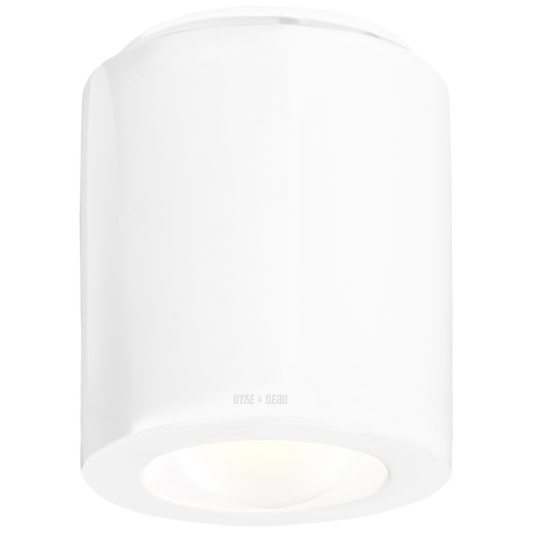 WHITE PORCELAIN CEILING DOWNLIGHT E27