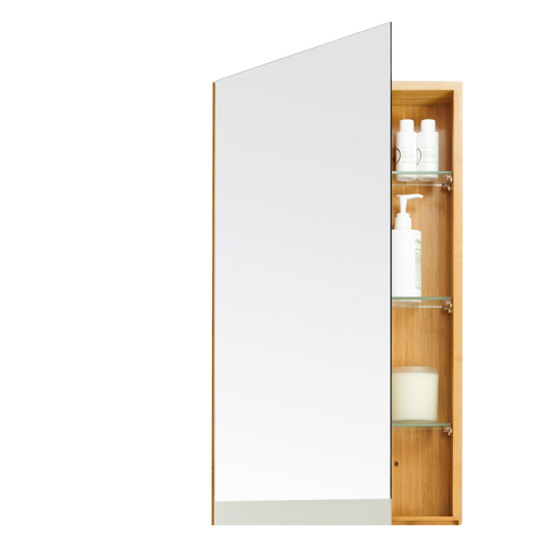 SINGLE CABINET 700 IN BAMBOO - BATHROOM - DYKE & DEAN  - Homewares | Lighting | Modern Home Furnishings