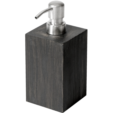 SOAP PUMP IN DARK OAK