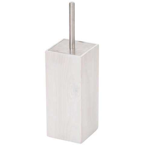 TOILET BRUSH OYSTER OAK - BATHROOM - DYKE & DEAN  - Homewares | Lighting | Modern Home Furnishings