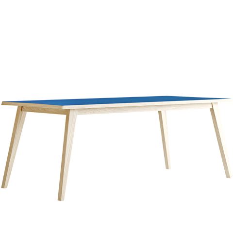 ARROW DINING TABLE OAK & BLUE