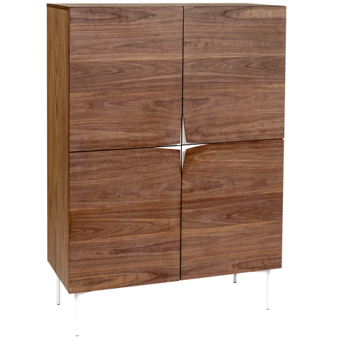 FLOP HIGHBOARD CABINET WALNUT