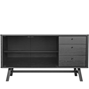 SKAGEN SIDEBOARD BLACK OAK