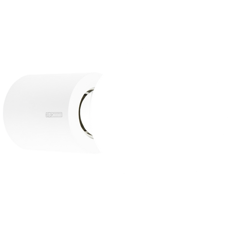 WHITE CYLINDER LAMP