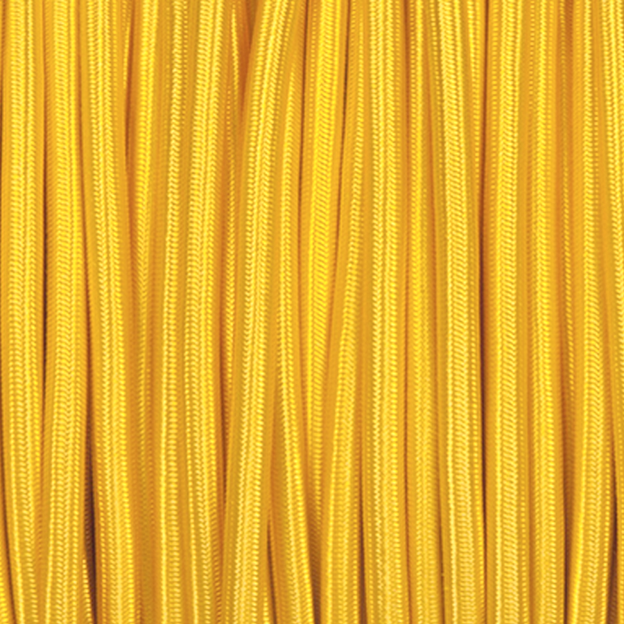 YELLOW ROUND FABRIC CABLE