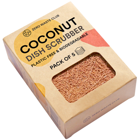 BIODEGRADABLE COCONUT SCOURERS - KITCHENWARE - DYKE & DEAN  - Homewares | Lighting | Modern Home Furnishings