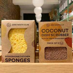 BIODEGRADABLE KITCHEN SPONGES