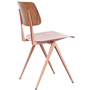 GALVANITAS S16 CHAIR BEIGE RED/BROWN