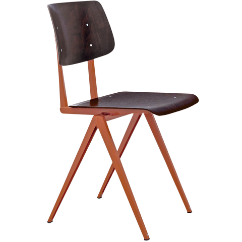 GALVANITAS S16 CHAIR PEARL COPPER/EBONY
